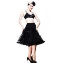 Black Long Petticoat  skirt
