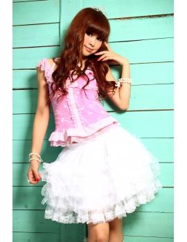 Fusta white lolita
