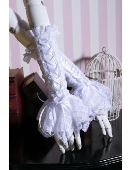 Manusi gotice lolita white