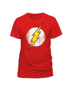 Tricou Distressed Flash