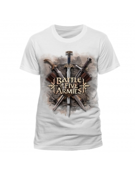 Tricou The Hobbit White