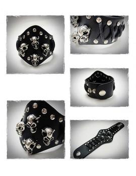 Skulls ritual wristband