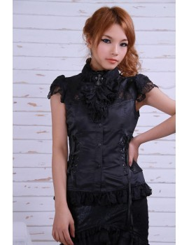 BLACK LOLITA WINONA SHIRT