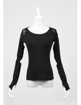 Bluza rock solaris black