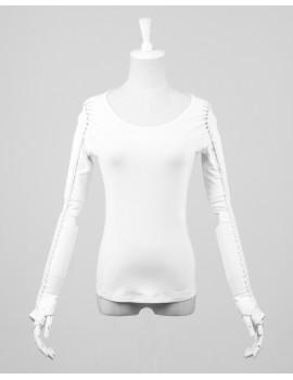 Bluza rock solaris white