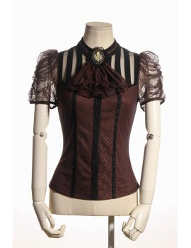 Bluza Steampunk Melisandre Brown