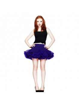 Short HellBunny Purple Tutu