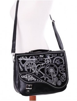 Black Steampunk bag