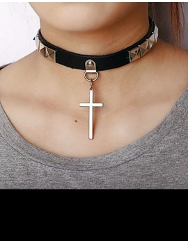 Chocker Cross