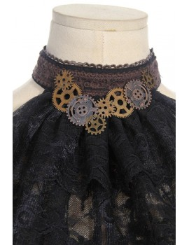 Lace gear steampunk jabot