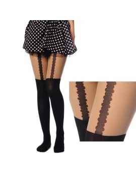 Black Goth tights