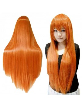 cosplay 80 cm orange wig