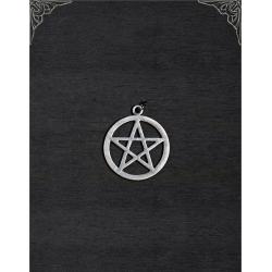 Witches pentagram pendant