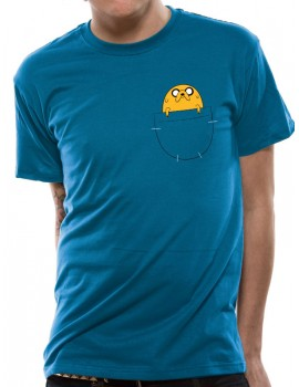 tricou Adventure Time - Jake Pocket