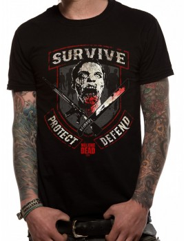 tricou Walking Dead - Survive