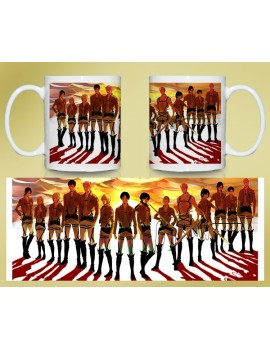 Attack on Titan cup