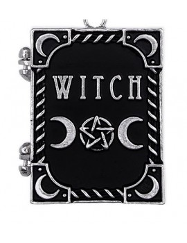 """WITCH"" Locket pendant"