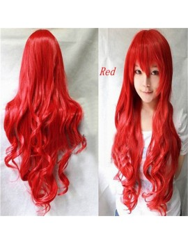 cosplay Curly red wig