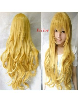 cosplay Curly black wig