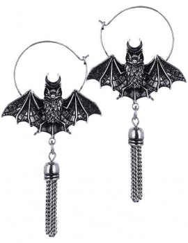 BAT SILVER Earrings,
