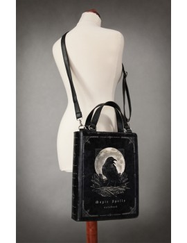 Gothic Raven Book Bag