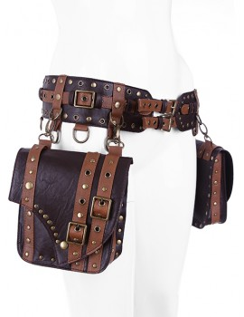 Saddlebag Belt Brown