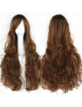 Long Wavy brown wig