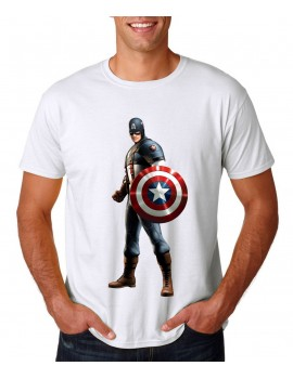 2 captain america t-shirt