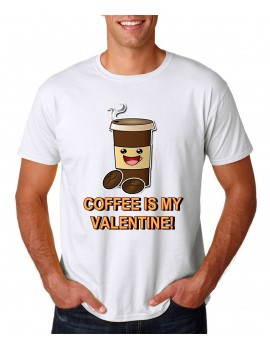 valentine's coffee t-shirt