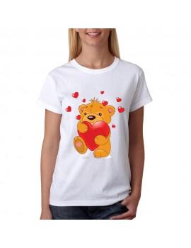 valentine teddy t-shirt