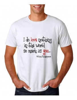 quote of love t-shirt