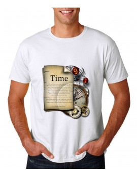 T-SHIRT STEAMPUNK TIME