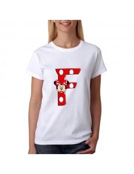 T-SHIRT LETTERS  F