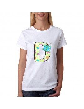 T-SHIRT PRINTING LETTERS D