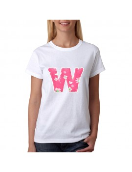 T-SHIRT LETTERS W