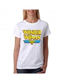 TRICOU WONDER WOMAN 100
