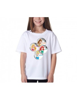 TRICOU COPII DISNEY PRINCESS 01