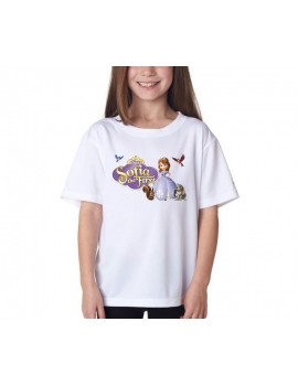 TRICOU COPII SOFIA THE FIRST