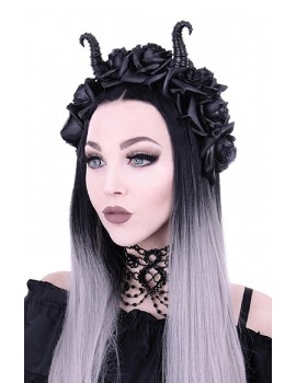 maleficient Diabolical & Roses headband