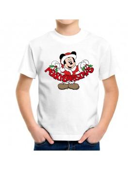 T-SHIRT CHRISTMAS MICKEY