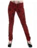 Pantaloni Cross Rosii