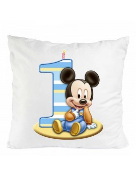 PILLOW MICKEY MOUSE BIRTHDAY