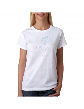 T-SHIRT BTS LOVE YOURSELF